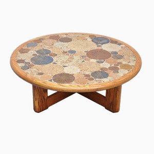 Tavolino da caffè Mid-Century con mosaico di Tue Poulsen per Haslev Denmark