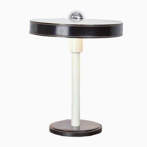 Lámpara de escritorio minimalista negra y blanca de L. Kalff para Philips