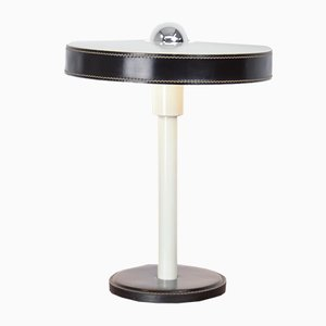 Minimalist Black & White Desk Lamp by L. Kalff for Philips