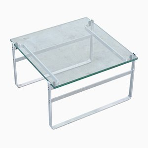 Glass Coffee Table 700 by Preben Fabricius