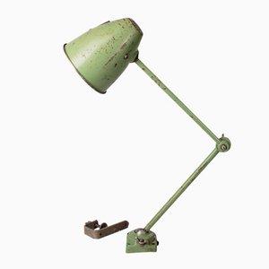 Lámpara de mesa de fábrica industrial, años 60