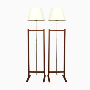 Lámparas de pie de Josef Frank para Svenskt Tenn, años 60. Juego de 2