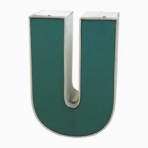 Vintage Decorative Letter U, 1970s