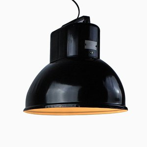 Lámpara de fábrica industrial vintage de Predom-Mesko, años 70