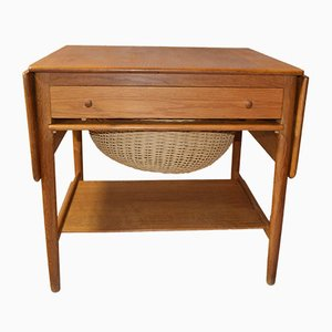AT-33 Worktable by Hans J. Wegner for Andreas Tuck, 1950s