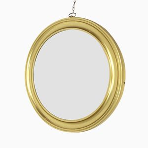 Großer Vintage Spiegel mit Goldrahmen