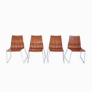 Chaises de Salon Tönnestav par Kjell Richardsen pour Tynes Møbelfabrik, 1960, Set de 4