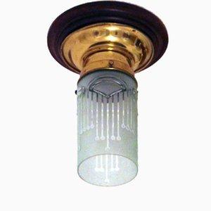 Lámpara de techo austriaca modernista
