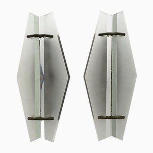 No. 1937 Wall Lights by Max Ingrand for Fontana Arte, 1950s, Set of 2