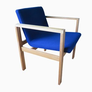 Danish Oak Armchair by Christian Linneberg, 1970s