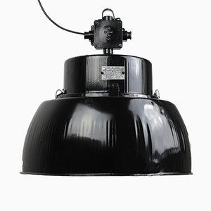 Lampada a sospensione modello ORP-125E vintage nera di Predom-Mesko