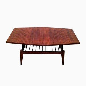 Tavolo basso in teak, anni '60