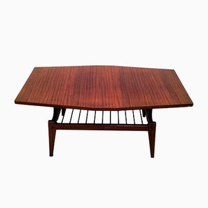 Teakholz Low Table, 1950er