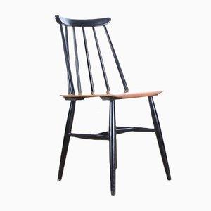 Mid-Century Modern Fanett Chairs by Ilmari Tapiovaara for Edsby Verken, 1961, Set of 4