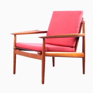 Easy Chair by Arne Vodder for Gløstrup Mobelfabrik, 1960s