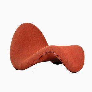 Silla Tongue vintage de Pierre Paulin para Artifort, años 60