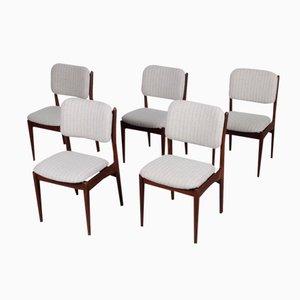 Chaises de Salon par Louis van Teeffelen pour Wébé, Set de 5
