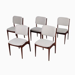 Dining Chairs by Louis van Teeffelen for Wébé, Set of 5