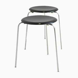 Stools by Arne Jacobsen for Fritz Hansen, 1950s, Set of 2