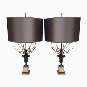 Table Lamps by Maison Charles, 1960, Set of 2