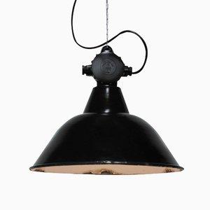 Grande Lampe d'Usine Modèle EHS1/c Style Bauhaus par Leuchtenbau Wittenberg, 1950s