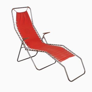 Foldable Beach Chair, 1950s