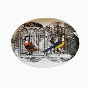 Le Arpie Gentili Dish by Piero Fornasetti, 1960