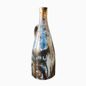 Ceramic Pitcher Vase by Robert Picault in Vallauris, 1950s