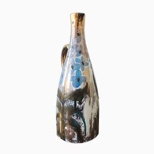 Vaso brocca in ceramica di Robert Piacult per Vallauris, anni '50