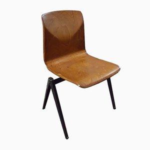 Chaise Empilable S22 Industrielle Vintage de Galvanitas