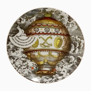 Mongolfière No. 2 Dining Plate by Piero Fornasetti, 1955