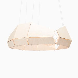 Suspension Moon par Gael Wuithier de Woodlabo