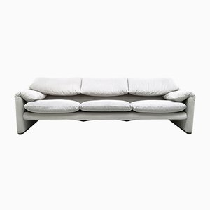 675 Maralunga Sofa by Vico Magistretti for Cassina, 1970s