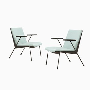 Oase Lounge Chairs by Wim Rietveld for Ahrend de Cirkel, 1958, Set of 2