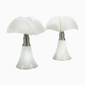 Pipistrello Table Lamps by Gae Aulenti for Martinelli Luce, 1960s, Set of 2