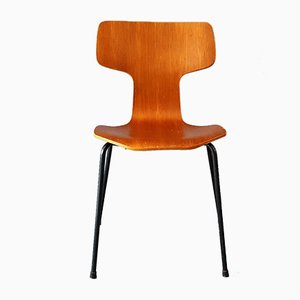 Model 3103 Hammer Chair by Arne Jacobsen for Fritz Hansen, 1964