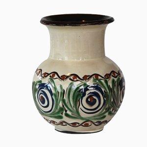 Jarrón danés de cerámica de Kähler