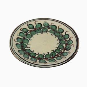 Dänischer Teller aus Keramik von Kähler