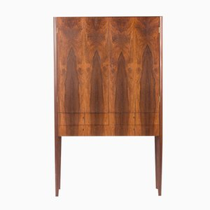 Swedish Rosewood & Oak Cabinet by Einar Hanock Johansson, 1950s