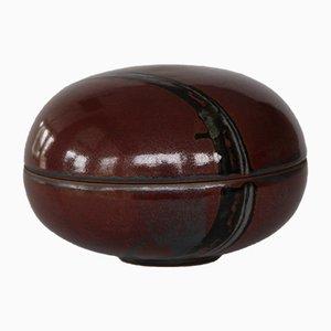 Scodella in ceramica smaltata di Jane Bailey, Danimarca