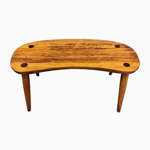 Solid Beech Kidney Stool by Josef Frank for Svenskt Tenn, 1960s