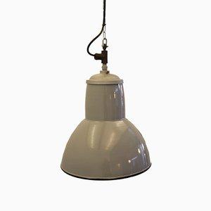 Lampada a sospensione smaltata grigia di Philips, anni '60