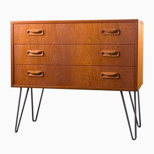 Vintage British Small Teak Chest of Drawers from G-Plan