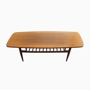 Mid-Century Walnut Coffee Table, 1970s