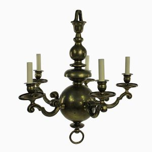 Antique Dutch Chandelier, 1840s