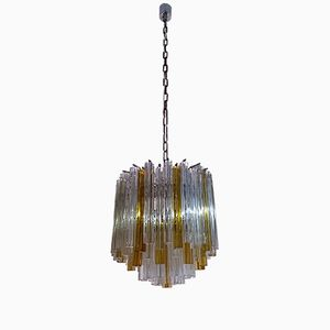 Mid-Century 6 Light Chandelier from Venini, 1960s