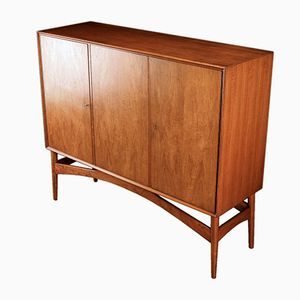 Danish Teak Highboard by Børge Seindal, 1960s