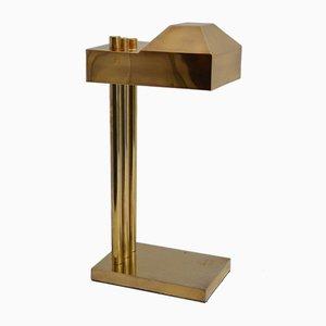 Bauhaus Messing Schreibtisch- oder Tischlampe von Marcel Breuer, 1920er