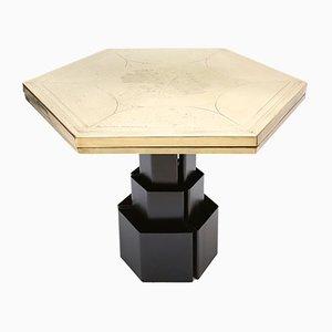 Tavolo esagonale di Christian Heckscher, anni '80
