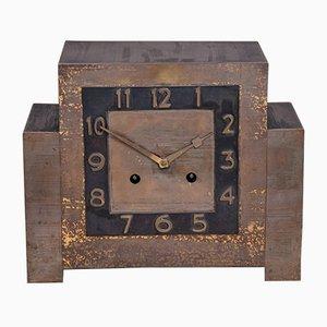 Orologio da tavolo Art Déco in rame, anni '20